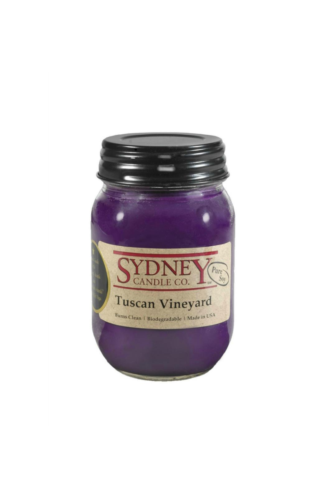 Sydney Candle Tuscan Vineyard Candle - Front Cropped Image