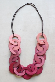 Sylca Pink Necklace - Front cropped