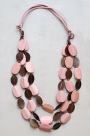 Sylca Pink Statement Necklace - Product Mini Image