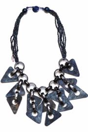 Sylca Spiked Bib Necklace - Product Mini Image