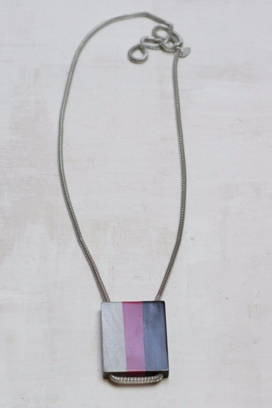 Sylca Tricolor Wood Pendant - Main Image