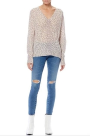 360 Cashmere Sylvia Sweater - Back cropped