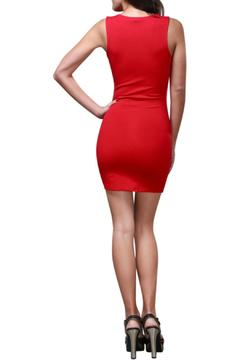 Shoptiques Product: Deep V Bodycon Dress