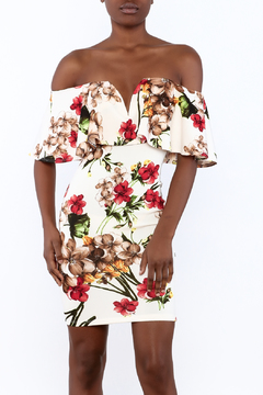 Shoptiques Product: Floral Bodycon Dress