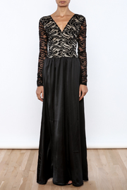 Symphony Lace Sleeve Dress - Front cropped