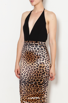 Symphony Leapord Dress - Product List Image