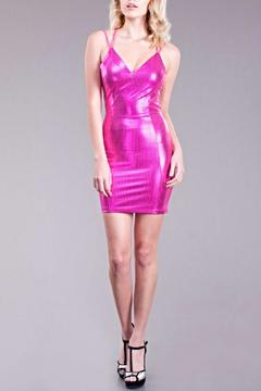 Shoptiques Product: Pink Metallic Dress