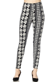 2NE1 Apparel Symphony Print Leggings - Product Mini Image