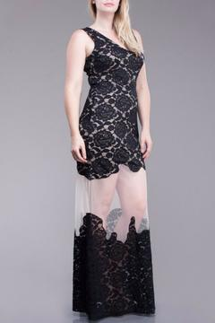 Shoptiques Product: Sheer Lace Maxi