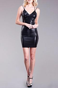 Shoptiques Product: Strappy Metallic Dress