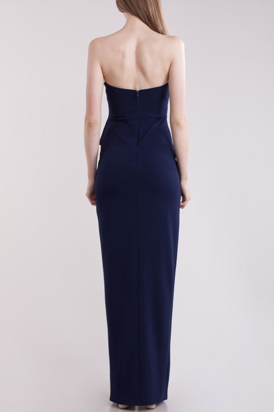 Symphony Bustier Maxi-Dress - Side Cropped Image