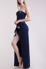 Symphony Bustier Maxi-Dress - Front full body