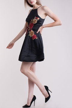 Symphony Flower-Applique Dress - Alternate List Image