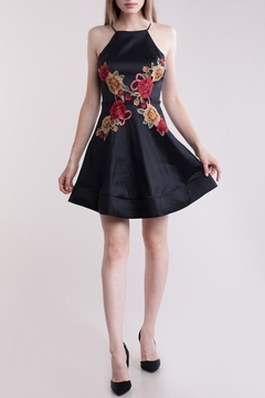 Symphony Flower-Applique Dress - Product List Image