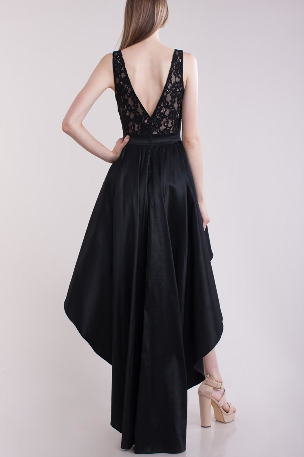 Symphony High Low Dress - Side Cropped Image