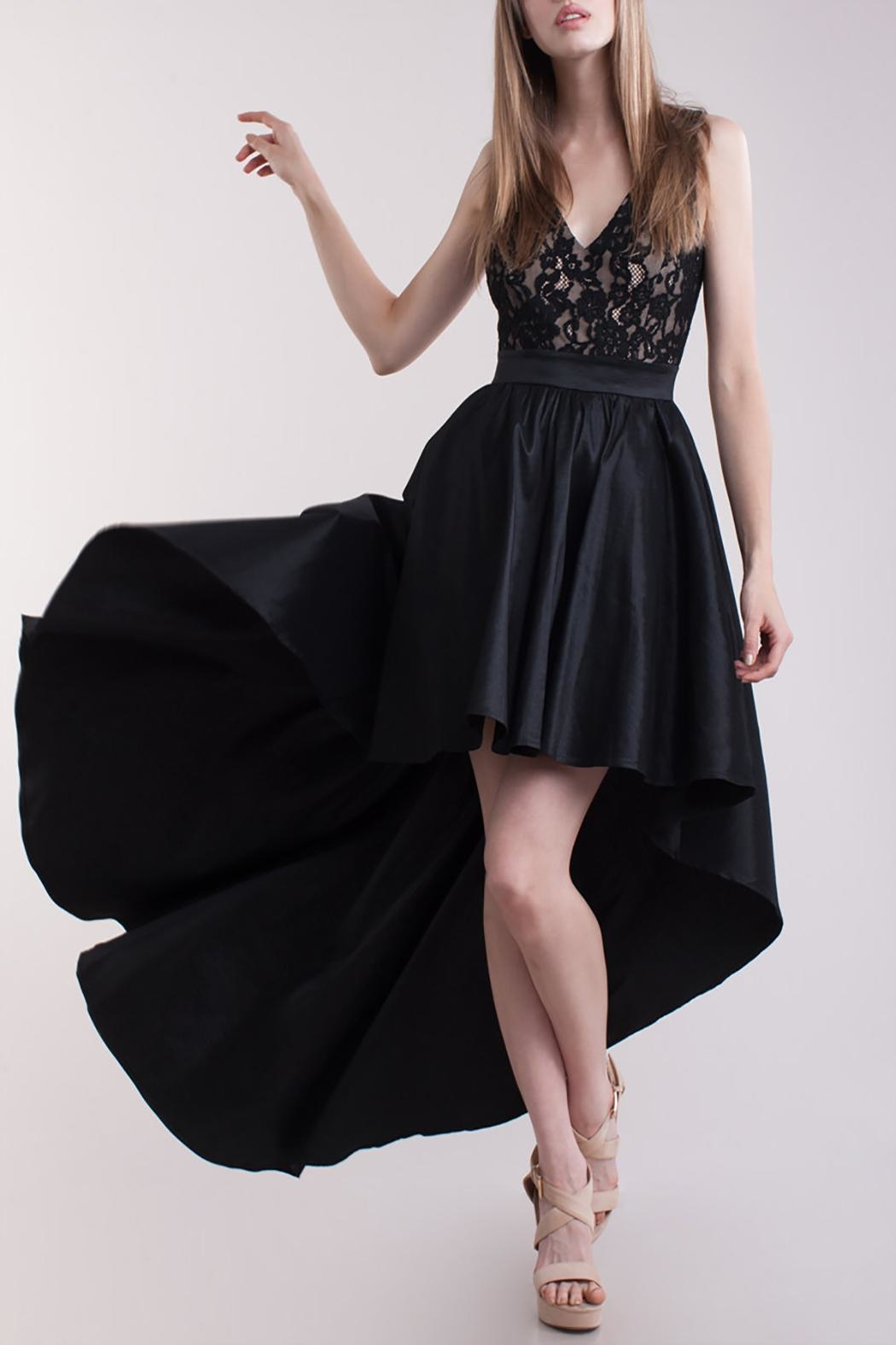 Symphony High Low Dress - Main Image
