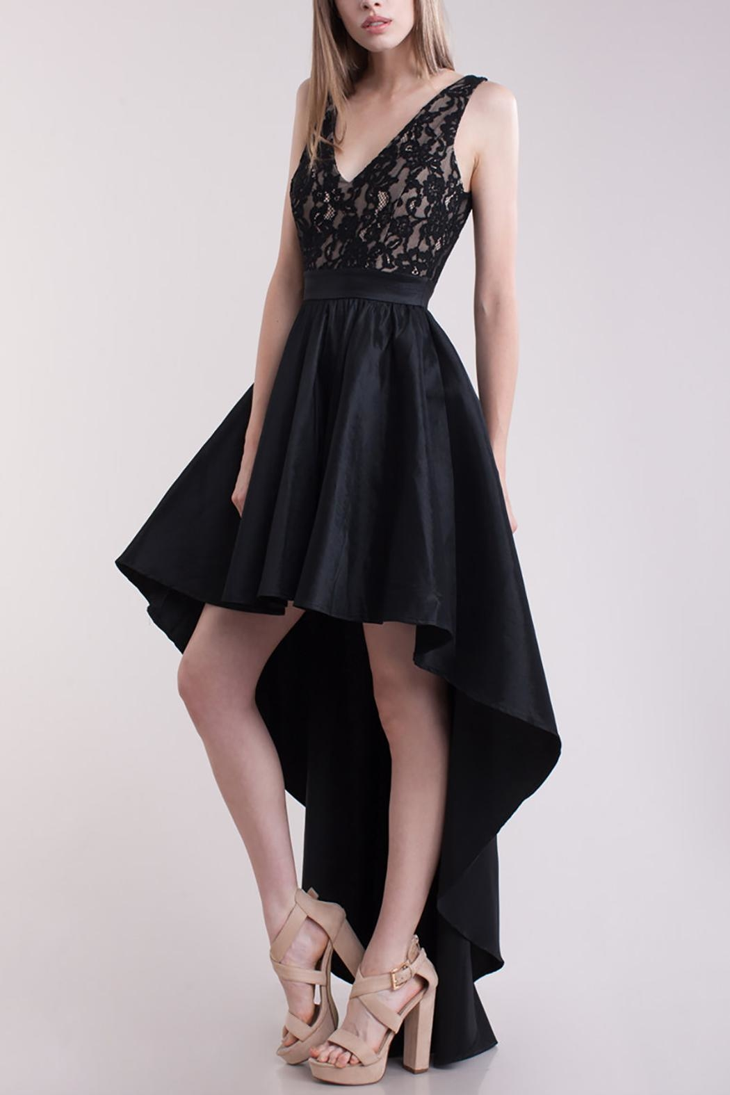 Symphony High Low Dress - Front Full Image