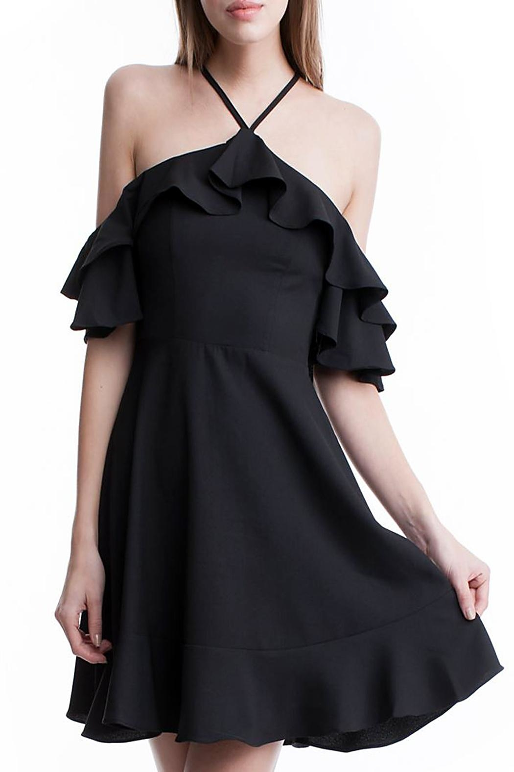 Symphony Open Shoulder Dress - Main Image