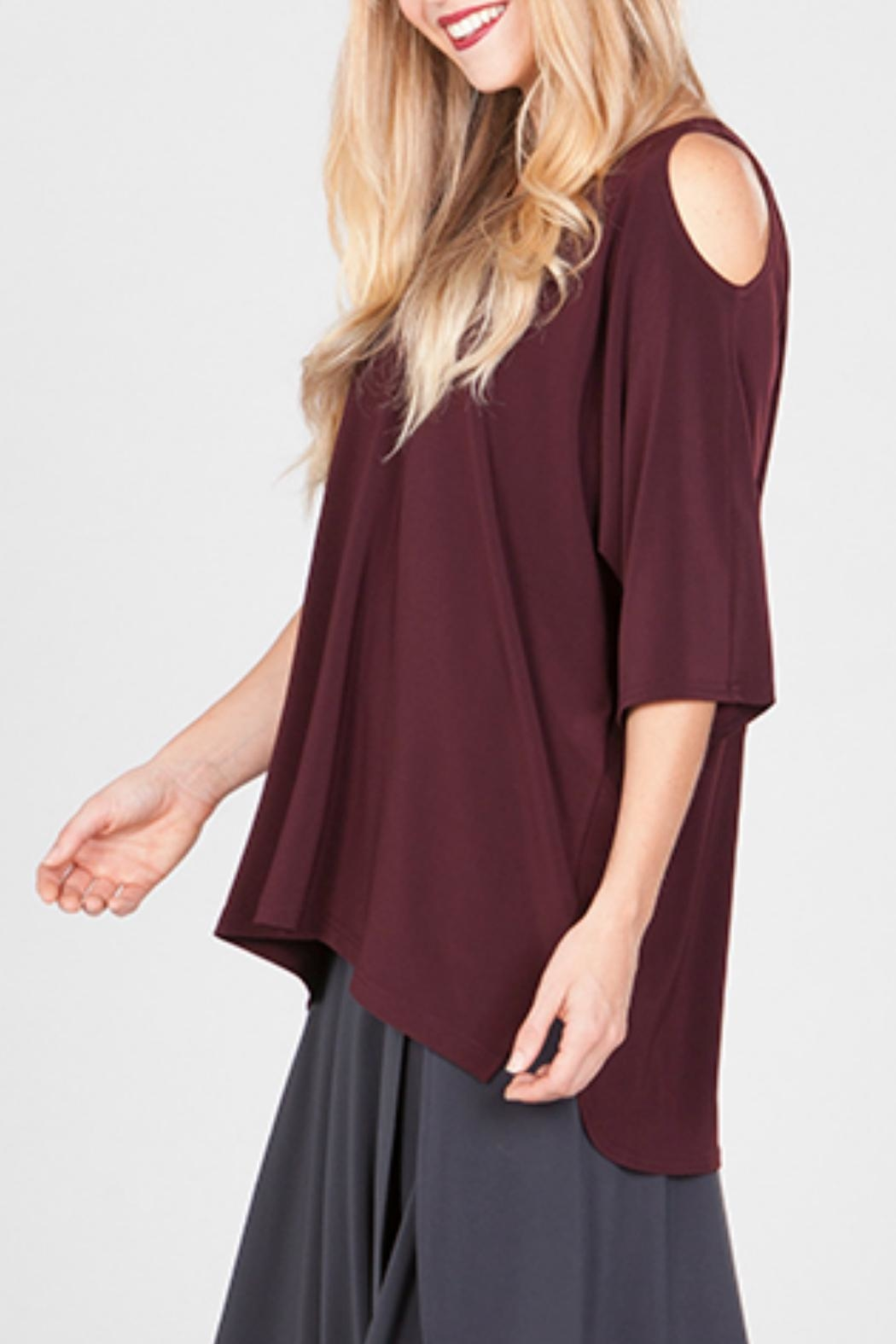 Sympli Cut-It-Out Top - Front Full Image