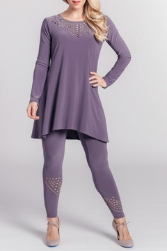 Sympli Deco Tunic Top - Alternate List Image