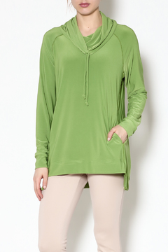 Sympli Lime Pull-Over Top - Product List Image
