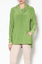 Sympli Lime Pull-Over Top - Product Mini Image