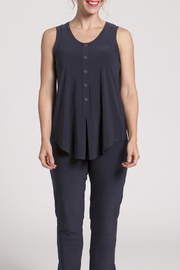 Sympli Sleeveless Unity Henley - Product Mini Image