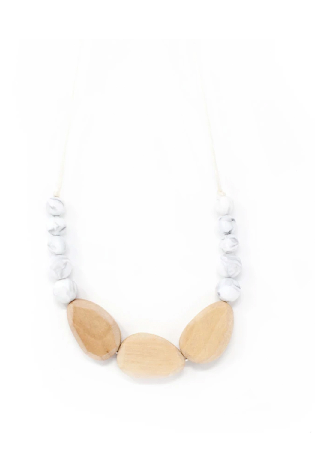 Three Hearts Syndi Chewable Jewelry Necklace - Main Image