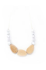 Three Hearts Syndi Chewable Jewelry Necklace - Product Mini Image