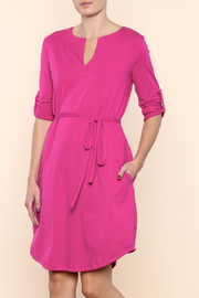 Synergy Jaipur Dress Fuchsia - Product Mini Image