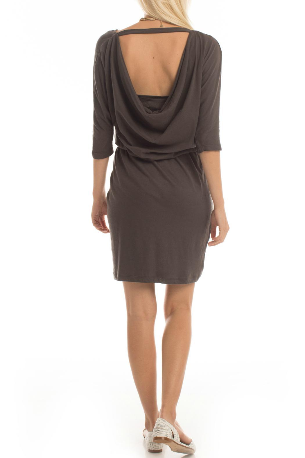 Synergy Organic Knit Gallery Dress - Front Full Image