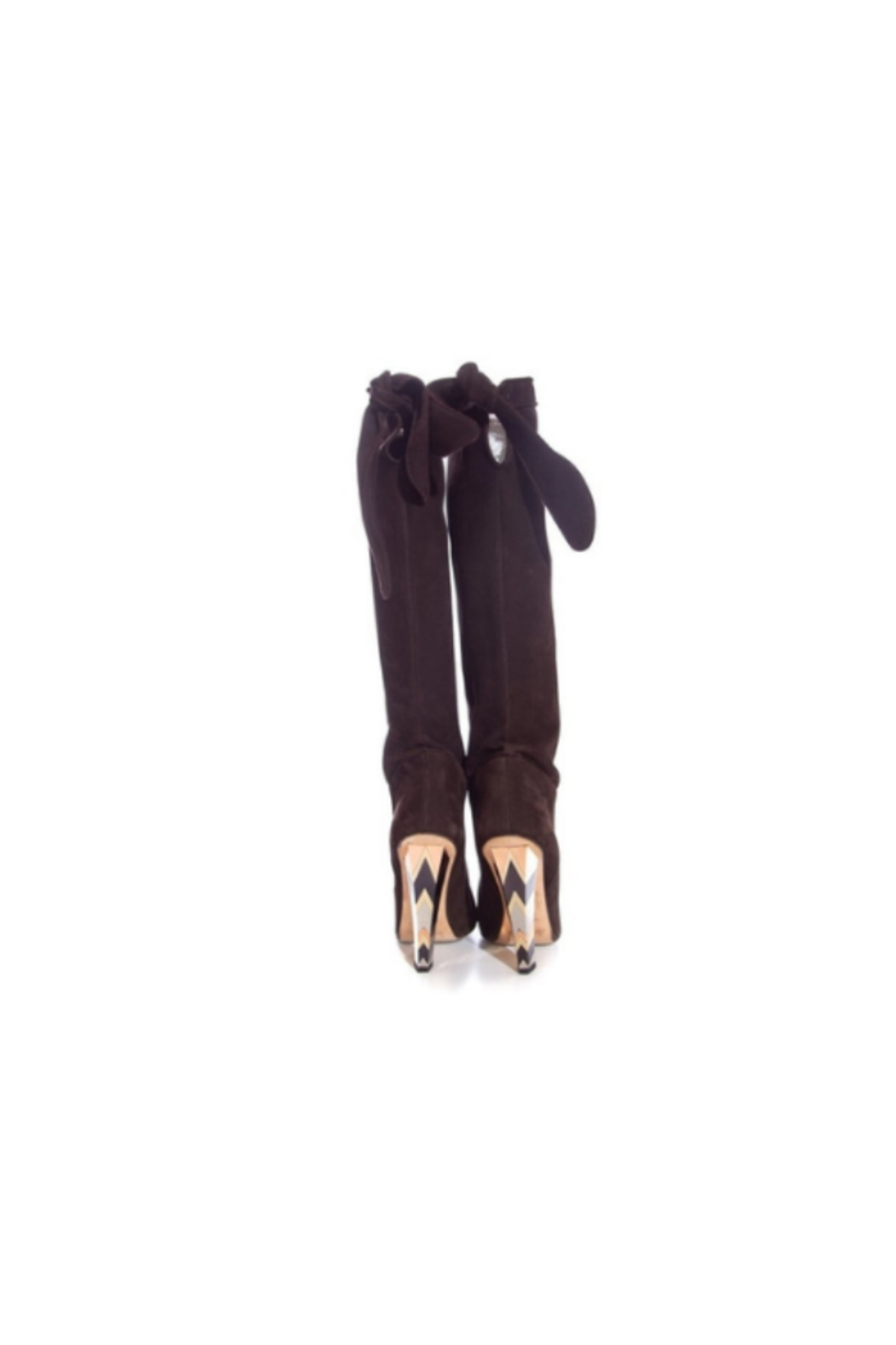 Jimmy Choo SZ 37.5 Boots - Side Cropped Image