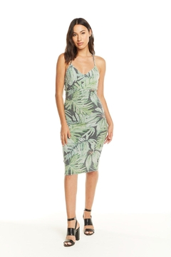 Chaser T-Back Bodycon Midi - Product List Image