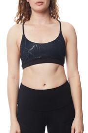 Seams Lovely T back Double Lined Sports Bra - Product Mini Image