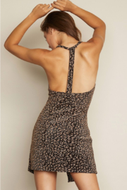 dress forum T Back Leopard Dress - Front full body