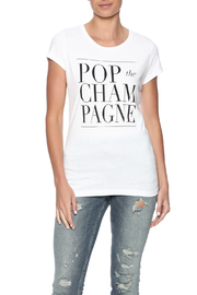 T&J Designs Champagne Graphic Tee - Product Mini Image