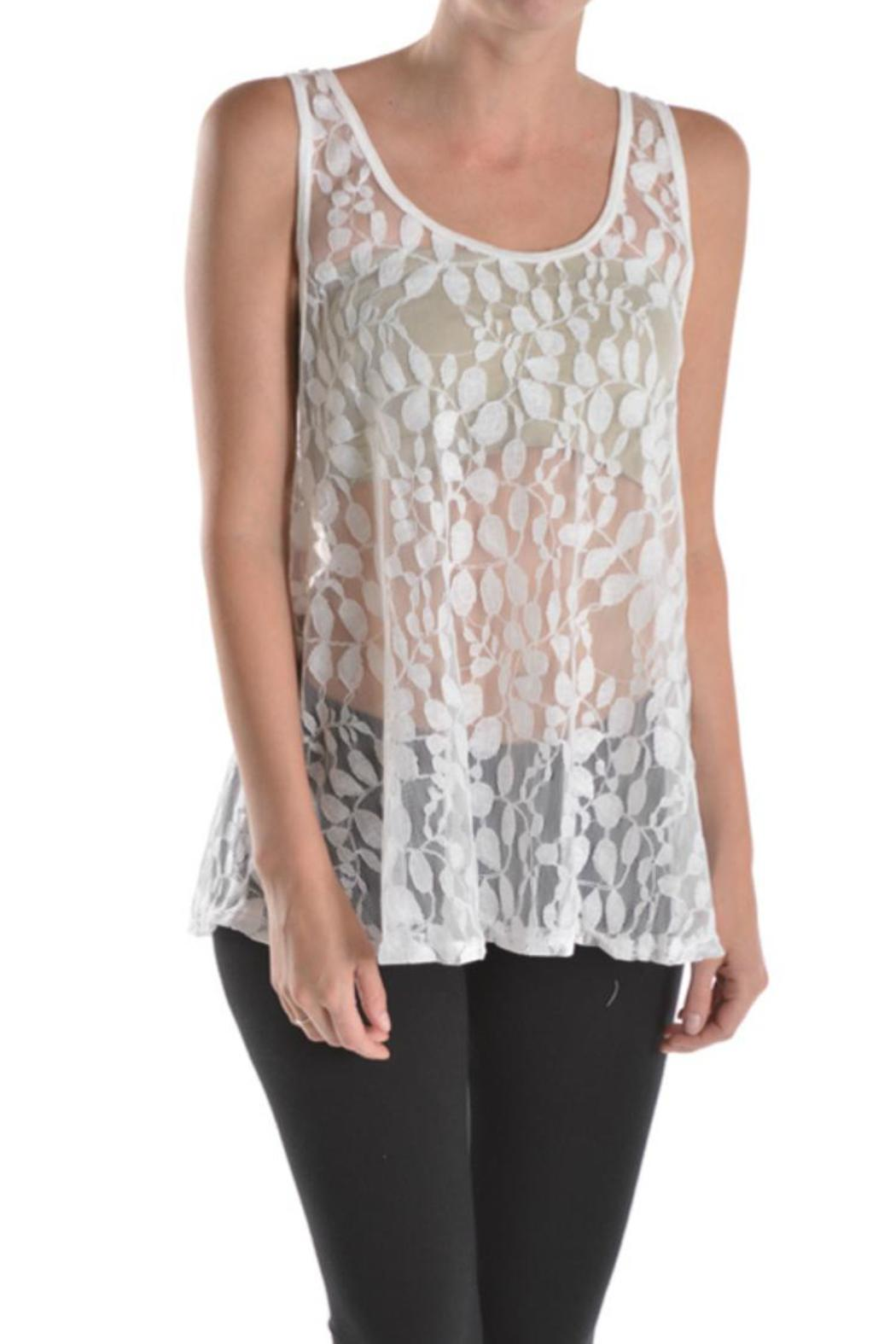 T party lace tank top from colorado by bellezza boutique for Boutique tops