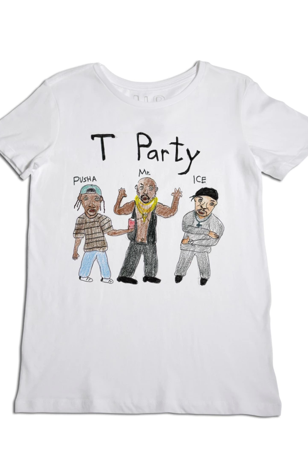 Unfortunate Portrait T Party Tee - Front Cropped Image