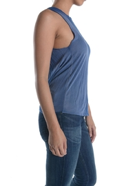 T-Party Fashion Blue Acid Top - Side cropped
