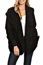 T-Party Fashion Fuzzy Hooded Jacket - Product Mini Image