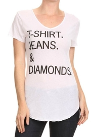 T-Party Fashion Basic Graphic Tee - Front cropped