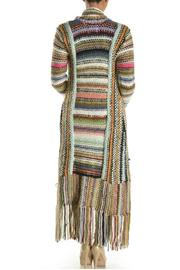 T-Party Fashion Multi-Color Knit Cardigan - Side cropped