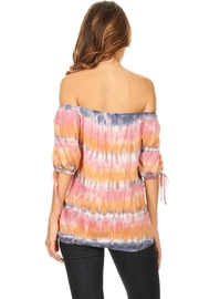 T-Party Fashion Off The Shoulder Colors - Front full body