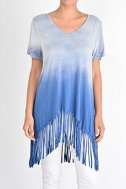 T-Party Fashion Ombre Fringe Top - Product Mini Image