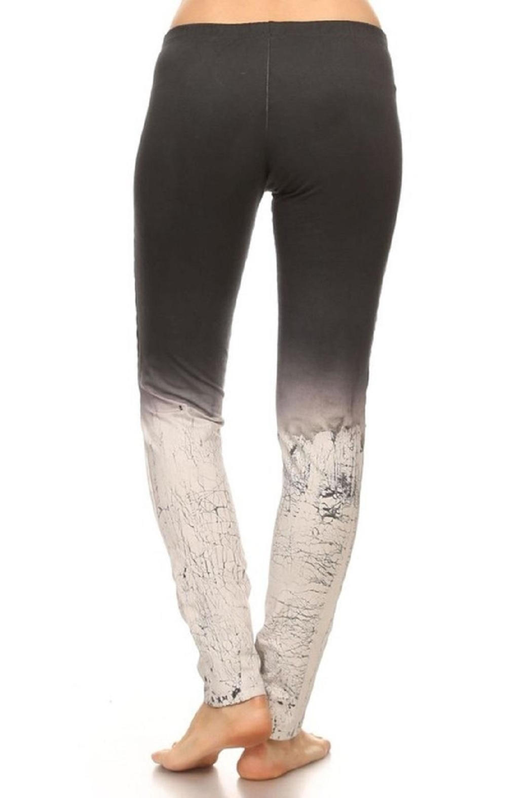 T-Party Fashion Ombre Leggings - Side Cropped Image