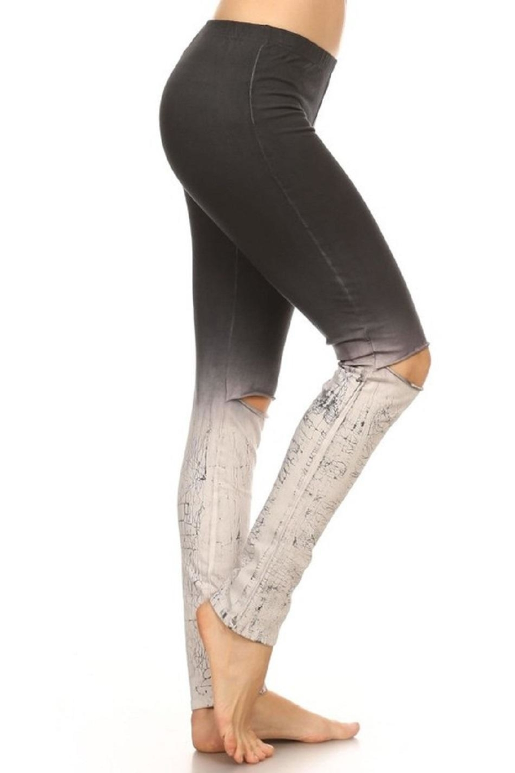 T-Party Fashion Ombre Leggings - Front Full Image
