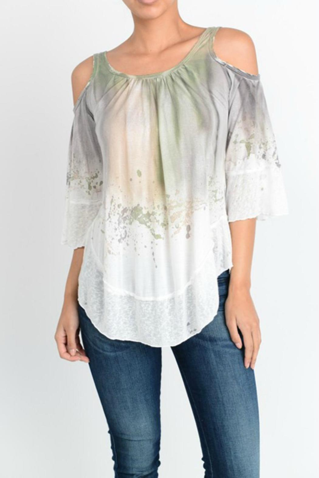 07d21107a0690 T-Party Fashion Tie Dye Top from Wyckoff by Bedford Basket — Shoptiques