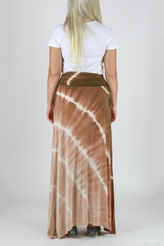 T-Party Fashion Tie Dye Maxi Skirt - Back cropped