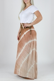 T-Party Fashion Tie Dye Maxi Skirt - Other