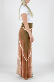 T-Party Fashion Tie Dye Maxi Skirt - Side cropped